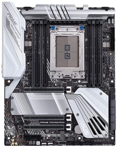 Выбор материнской платы на AMD TRX40 - ASUS PRIME TRX40 PRO