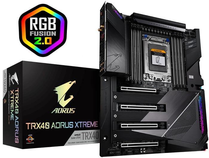 Выбор материнской платы на AMD TRX40 - GIGABYTE TRX40 AORUS Xtreme