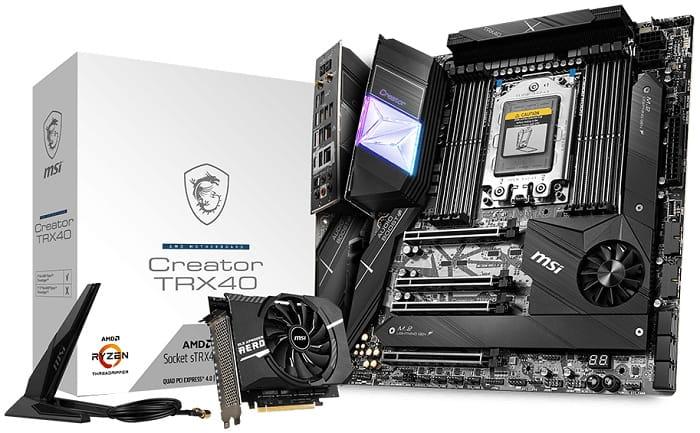 Выбор материнской платы на AMD TRX40 - MSI Creator TRX40