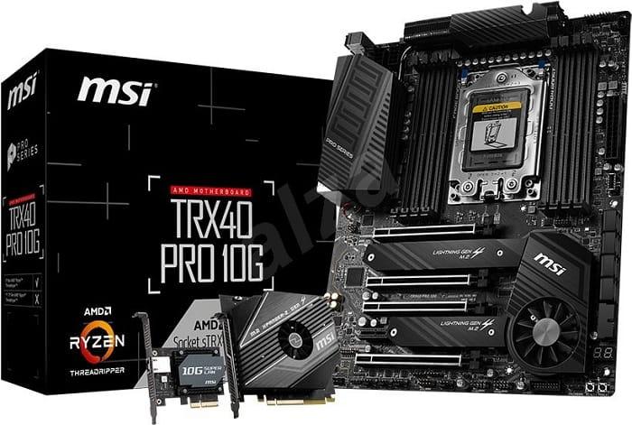 Выбор материнской платы на AMD TRX40 - MSI TRX40 PRO 10G