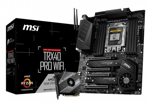 Выбор материнской платы на AMD TRX40 - MSI TRX40 PRO WIFI