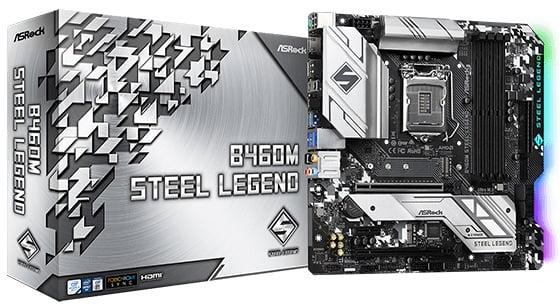 Выбор материнской платы на чипсете Intel B460 - ASRock B460M Steel Legend