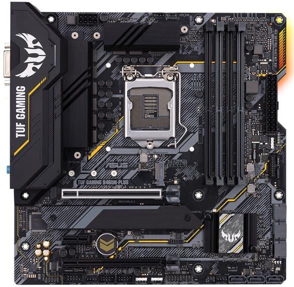 Выбор материнской платы на чипсете Intel B460 - ASUS TUF Gaming B460M-PLUS (Wi-fi)