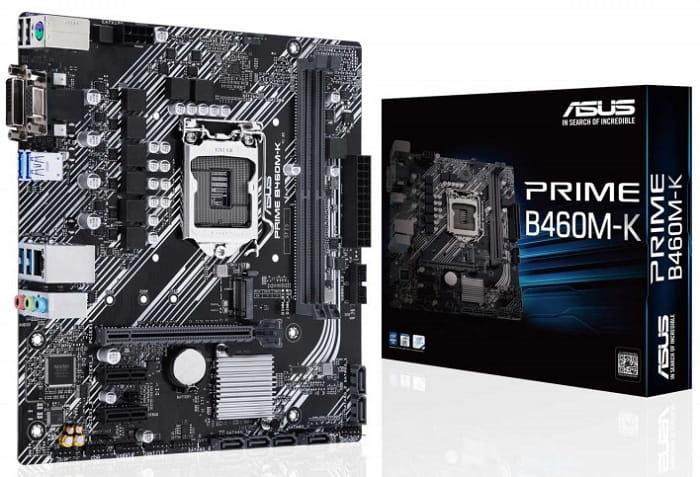 Выбор материнской платы на чипсете Intel B460 - Asus PRIME B460M-K