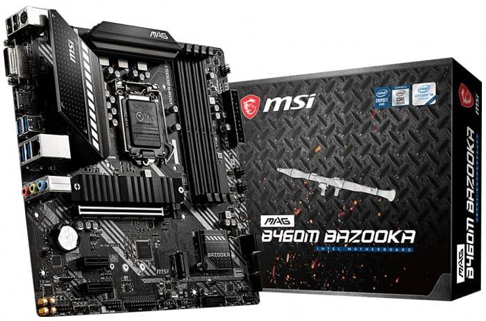 Выбор материнской платы на чипсете Intel B460 - MSI MAG B460M Bazooka