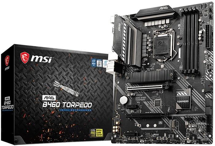 Выбор материнской платы на чипсете Intel B460 - MSI MAG B460 Torpedo