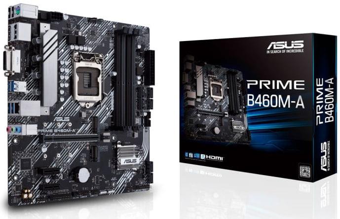 Выбор материнской платы на чипсете Intel B460 - Asus PRIME B460M-A
