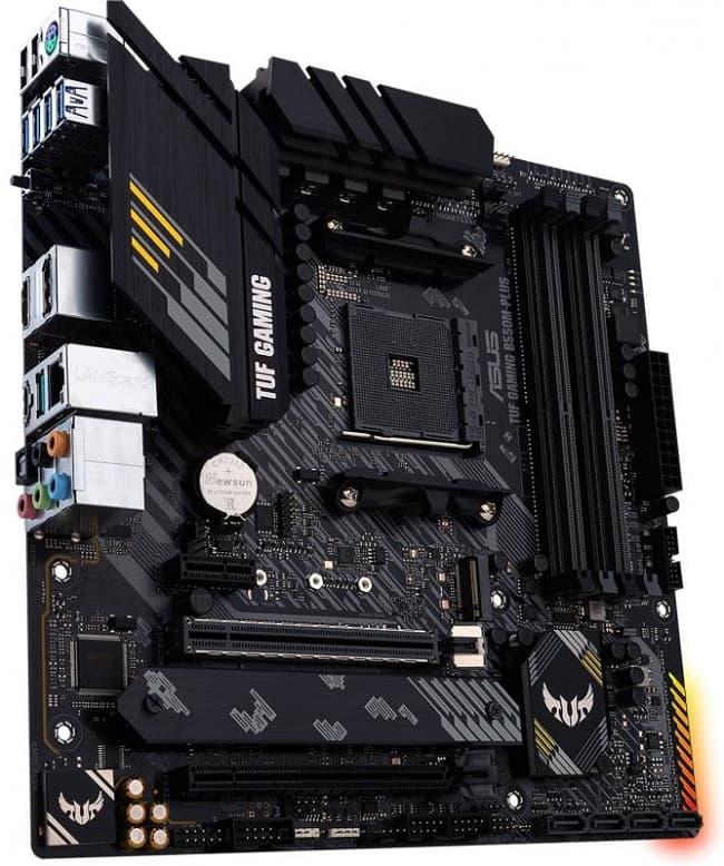 Выбор компактной материнской платы на AMD B550 - Asus TUF GAMING B550M-PLUS (Wi-Fi)
