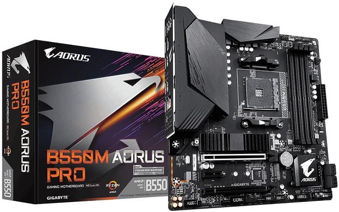 Выбор компактной материнской платы на AMD B550 - Gigabyte B550M AORUS PRO