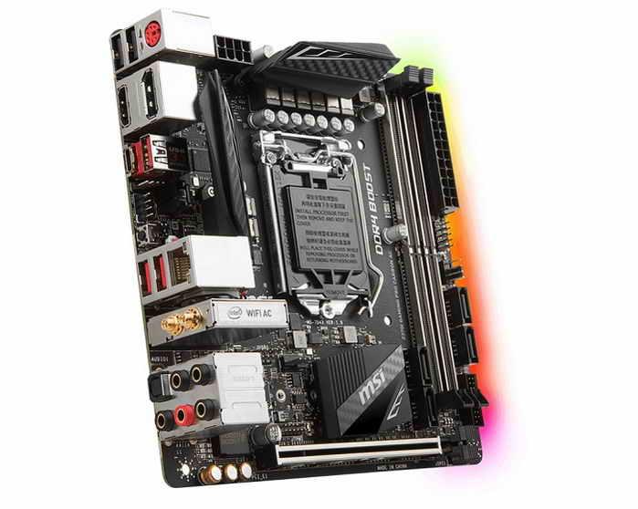 Z370 mini-ITX, выбор