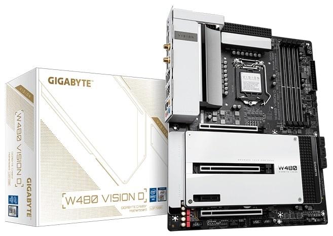 Gigabyte W480 VISION D