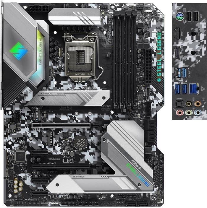 Выбор материнской платы на чипсете Intel Z490 - ASRock Z490 Steel Legend