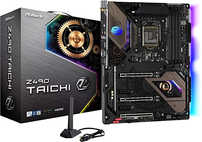 Выбор материнской платы на чипсете Intel Z490 - ASRock Z490 Taichi