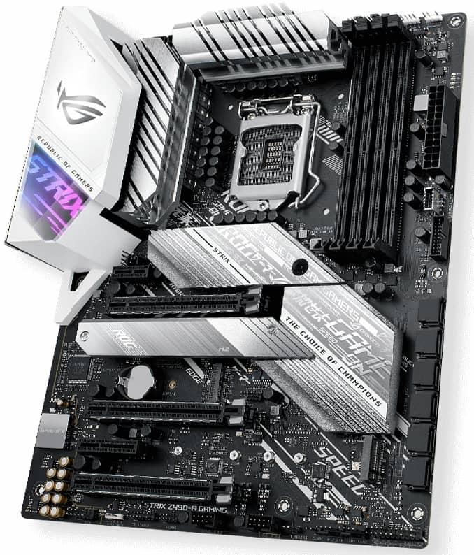 Выбор материнской платы на чипсете Intel Z490 - Asus ROG STRIX Z490-A GAMING
