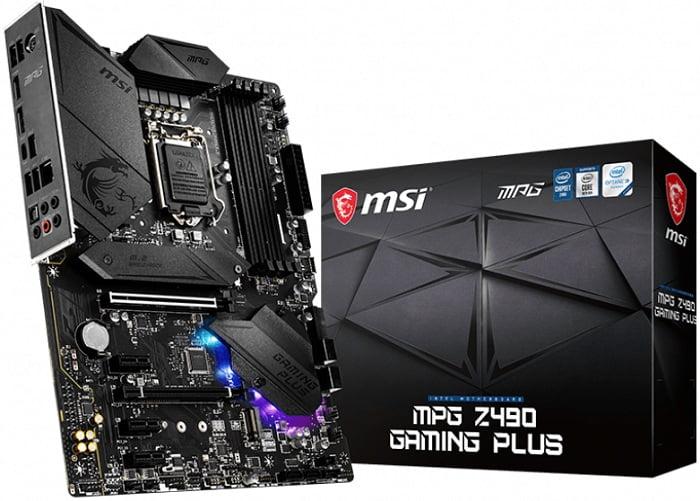 Выбор материнской платы на чипсете Intel Z490 - MSI MPG Z490 GAMING PLUS