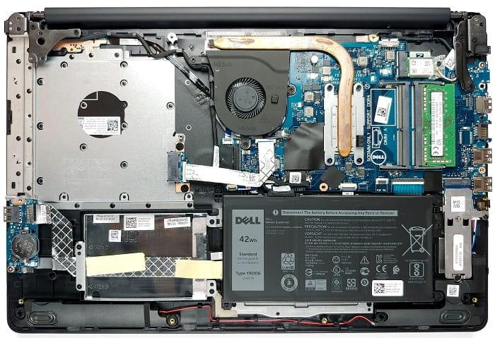 Выбрал Dell Inspiron 3793, отговорите - внутреннее устройство