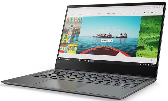 Ноутбук для фотошопа до 1000 долларов - Lenovo Ideapad 720S 14