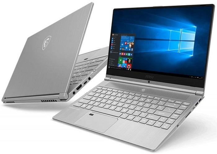 Ноутбук для фотошопа до 1000 долларов - MSI PS42 Modern 8RC (RA, RB)