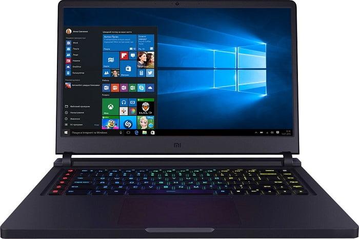 Ноутбук для фотошопа до 1000 долларов - Xiaomi Mi Gaming Laptop