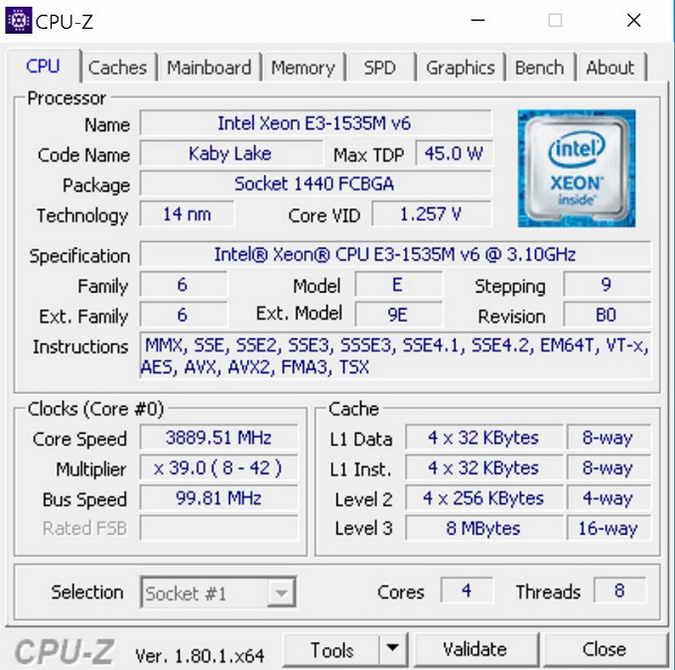 Lenovo ThinkPad P51 – обзор