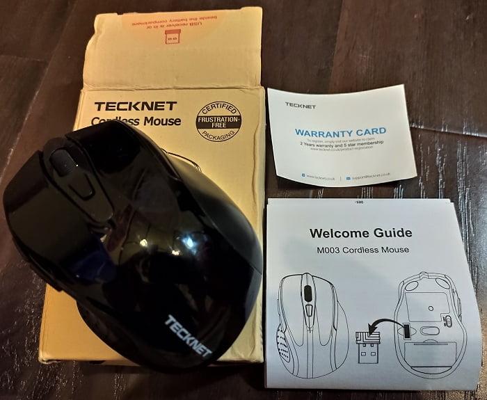 Мышь TeckNet Pro M003 – обзор - комплект поставки