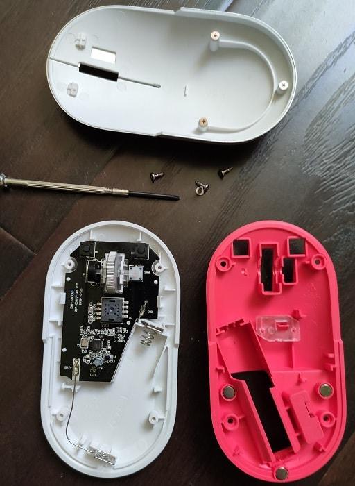 Мышь Xiaomi Fashion – обзор. Внутренне устройство