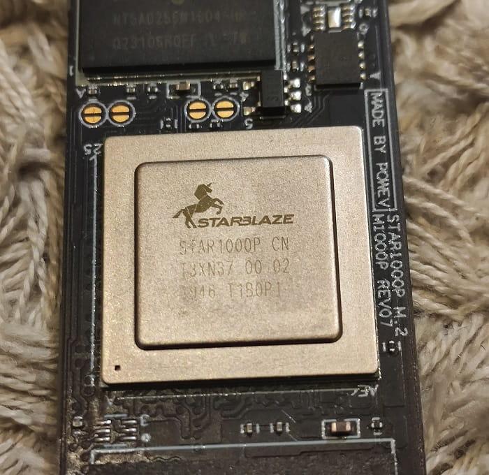 Asgard AN3+ RED – обзор - контроллер STAR1000P