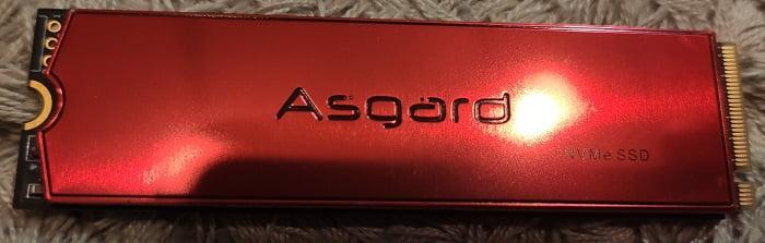 Asgard AN3+ RED – обзор - внешний вид