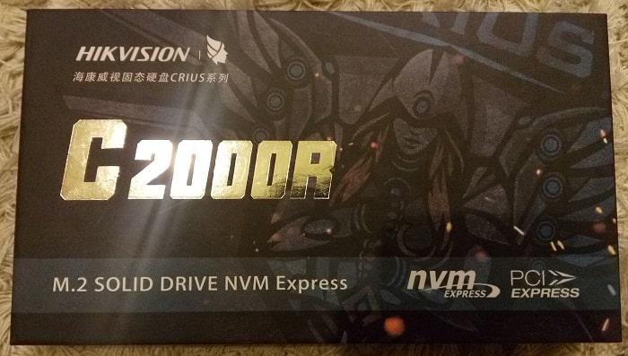 тестирование SSD Hikvision C2000R