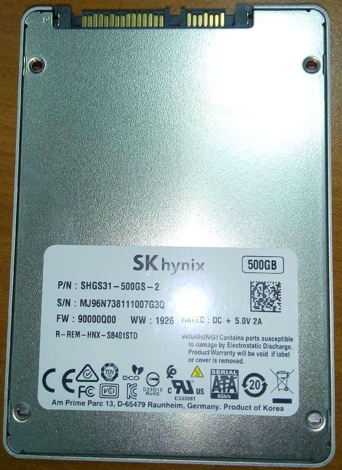 SK Hynix Gold S31 – обзор