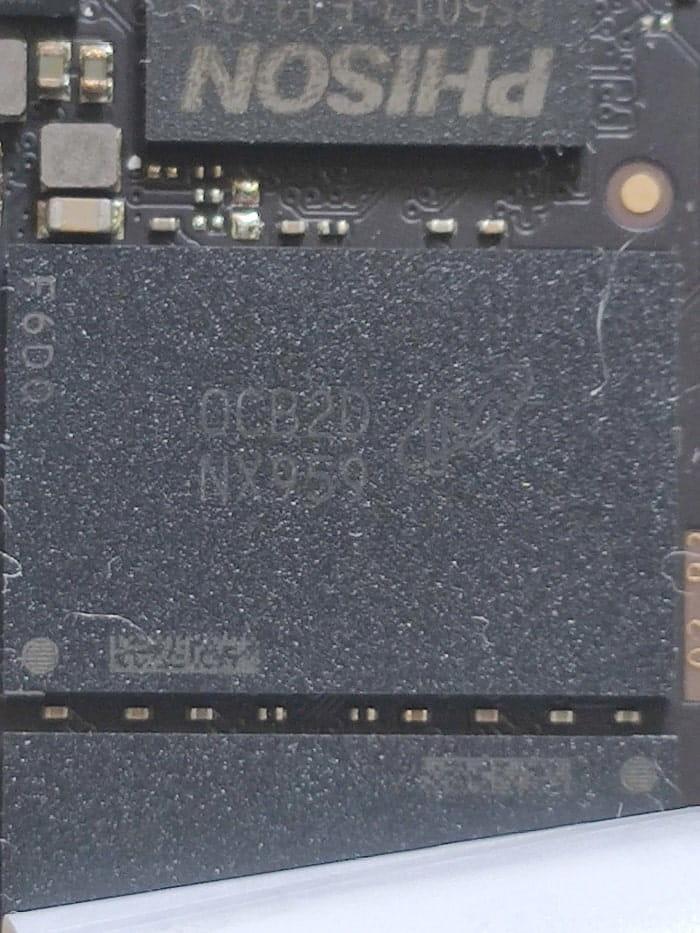 Crucial P2 – NAND