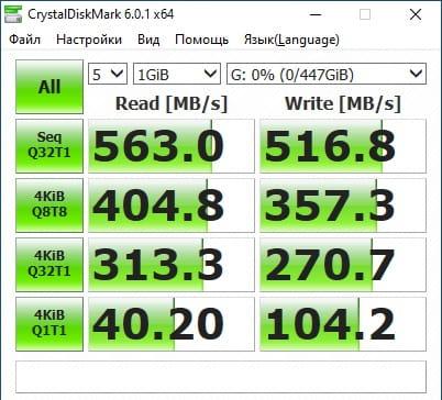 SSD Mengmi 480 ГБ