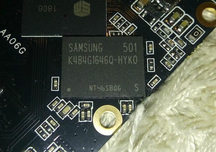 SSD Mengmi 480 ГБ - DRAM