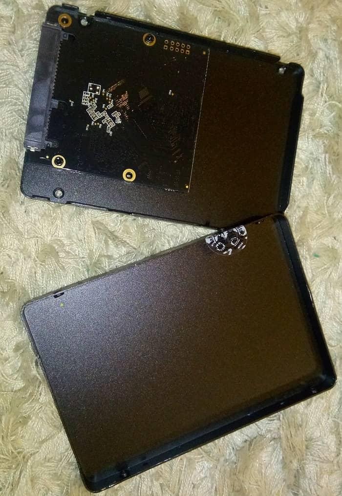 SSD Mengmi 480 ГБ - внутреннее устройство