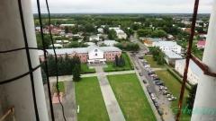Колокольня Суздаля. Вид на Красную площадь