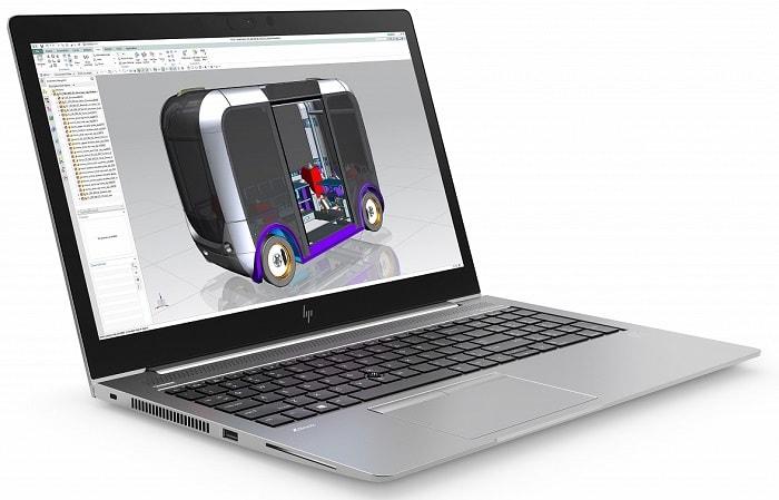 HP ZBook 15u G5, обзор