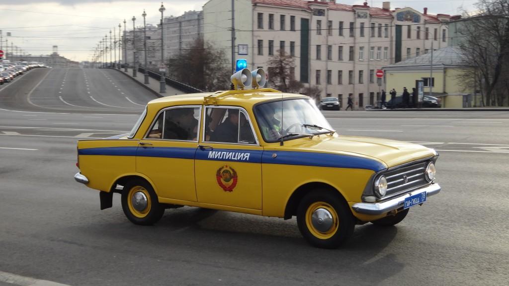 милицейский москвич