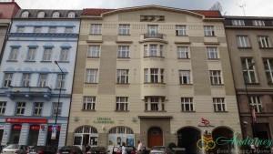 Прага. Дом на Сеноважной площади