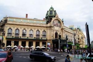 Достопримечательности Праги. Общественный дом