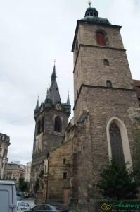 Прага. Собор Святого Индржиха и Святой Кунгуты