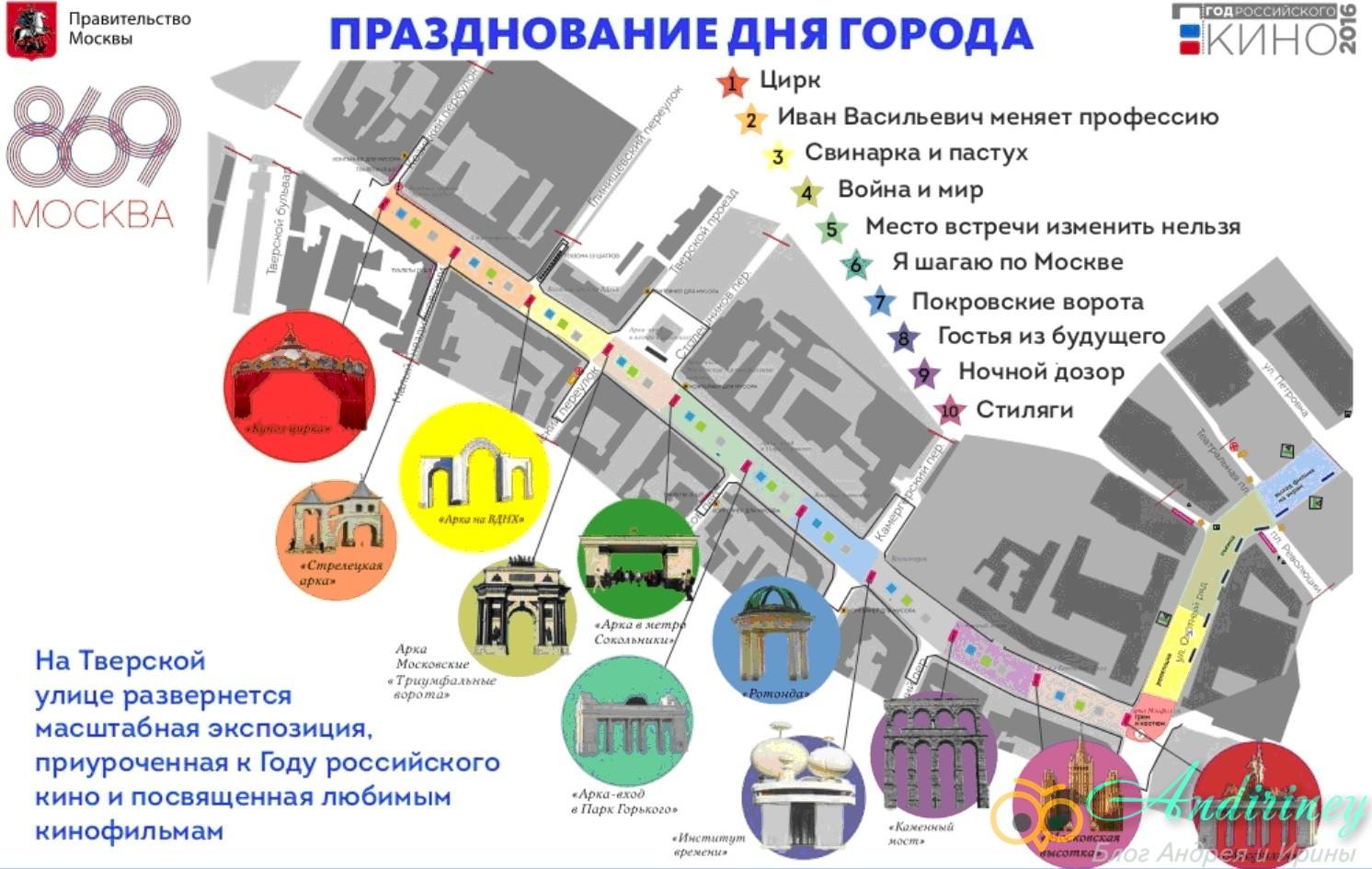 День города в Москве 2016