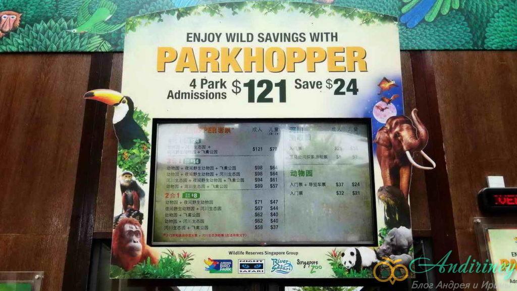 Возможная экономия на билетах в зоопарк