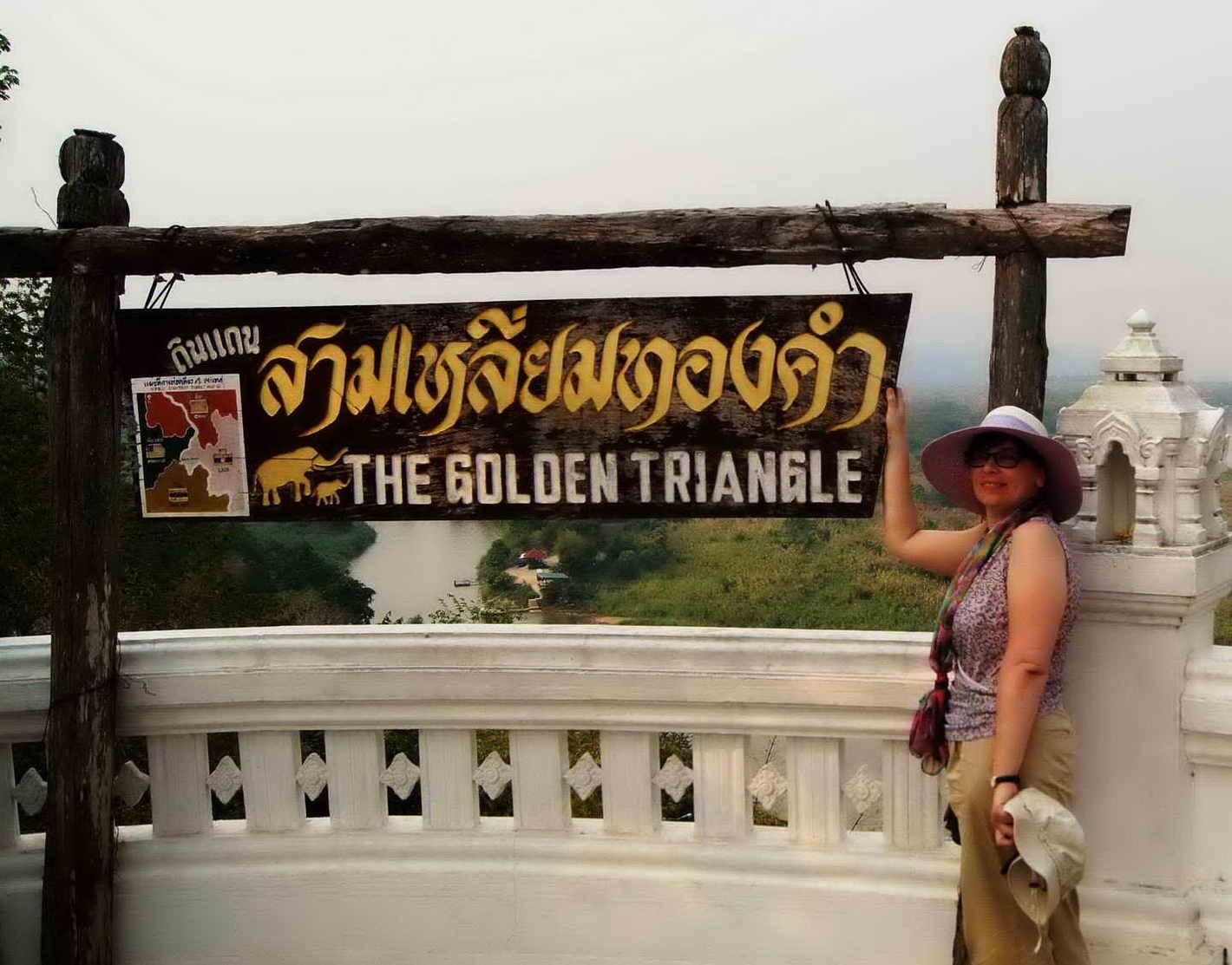 Золотой треугольник - Лаос, Бирма, Тай