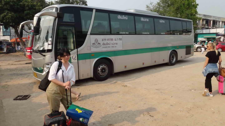 Автобус в Чианг Май из Чианг рая