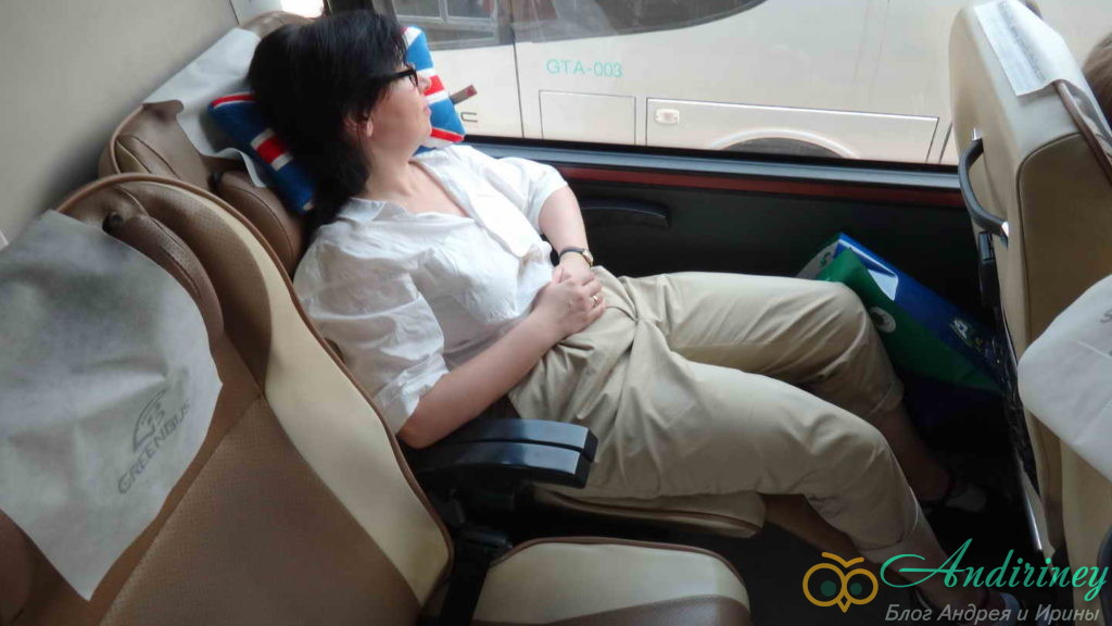 Кресло в VIP-автобусе