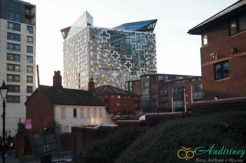 Достопримечательности Бирмингема. The Cube