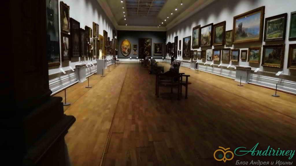 Ноттингемский замок. Картинная галерея