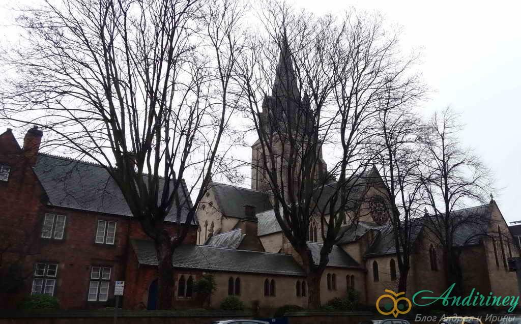Достопримечательности Ноттингема. Кафедральный собор Св Варнаввы