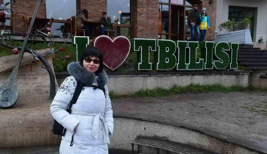 Тбилиси в январе