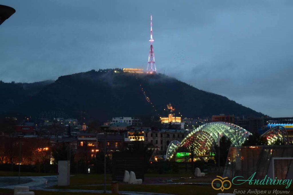 Тбилиси. Телебашня